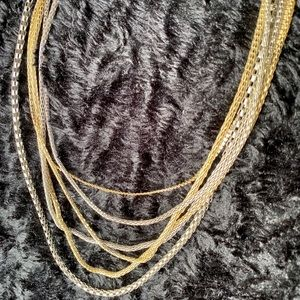 Forever 21 Jewelry - Forever 21 Gold & silver chains